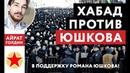 Весь ХАБАД против Юшкова! Новый нацизм и фашизм в России? Айрат Голдин в поддержку Романа Юшкова!