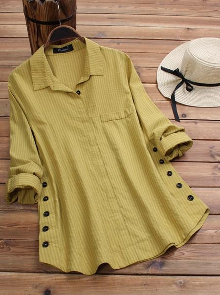 Женские блузки и платья из хлопка - повседневно и удобно.