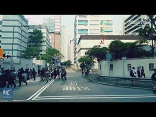 В Гонконге травмирован 21 полицейский