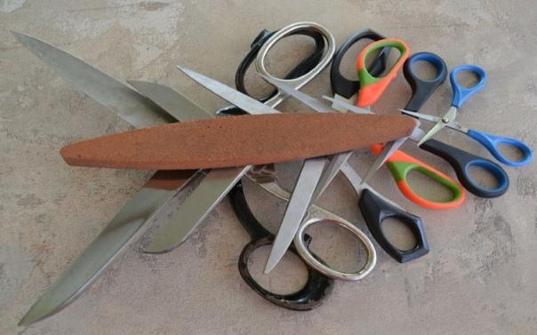 Способы заточки ножей и ножниц своими руками