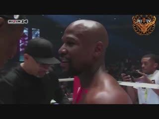 Floyd Mayweather vs Tenshin Nasukawa для любителей юмора