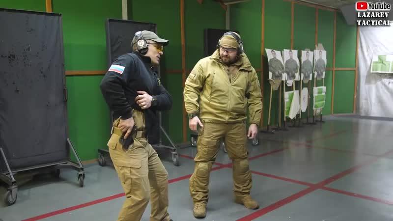 ★ Пистолет – 2 - Инструктор ЦСП «Витязь» учит правильно извлекать пистолет из кобуры