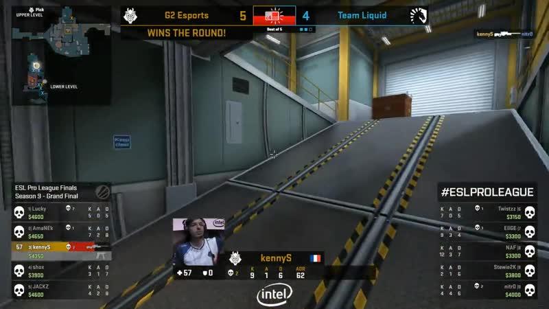 KennyS 1v2 clutch (Nuke)