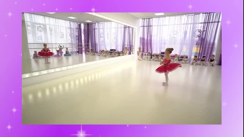 Удивительное исполнение балета от одной из наших девчонок