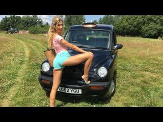 Shona River - Bikini Babe Fucked In British Taxi (Teen, Blonde, Blowjob, Natural Tits, Fake Taxi)