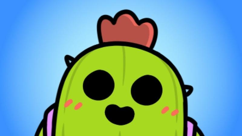 Brawl Stars Animation - Annoying Spike (meme)