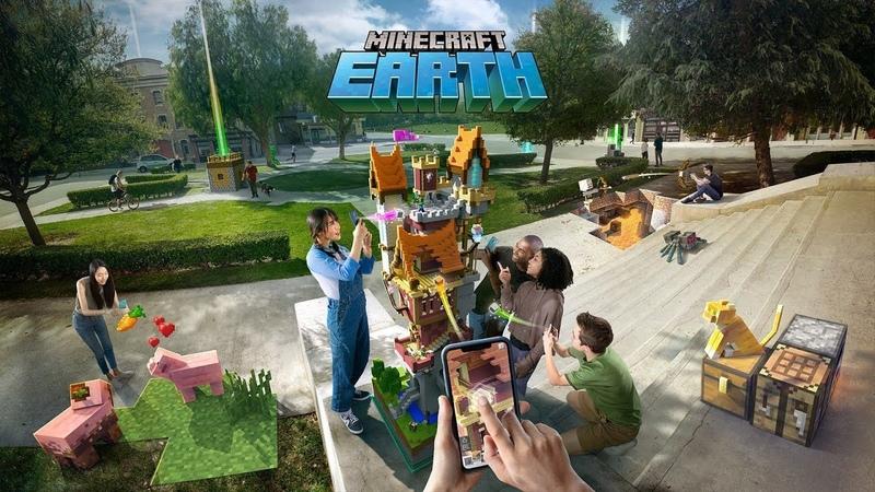 Скоро! Мобильная AR - версия Minecraft