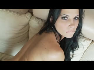 Трахнул жгучую брюнетку в лосинах, POV sex porn milf body sport fit girl busty big tit boob ass butt pussy whore (Hot&Horny)