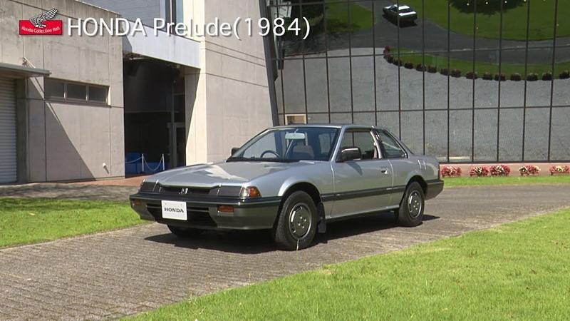 Honda Collection Hall 収蔵車両走行ビデオ HONDA Prelude 1984年