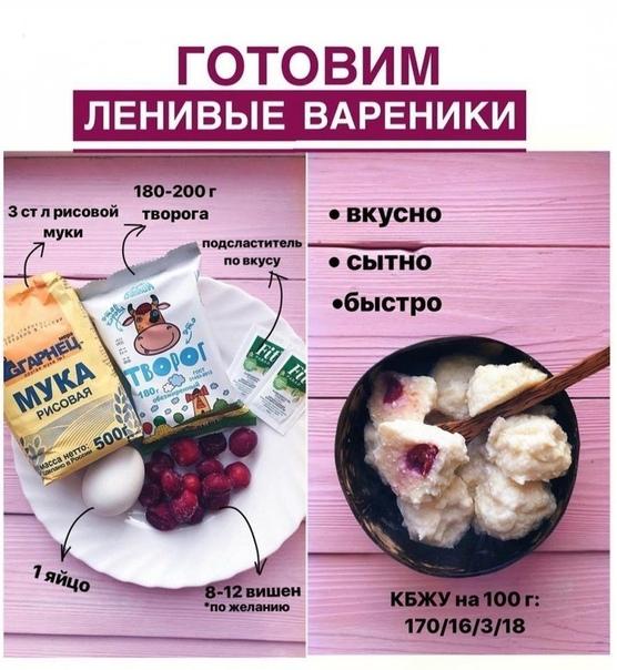 Подборка вариантов для завтрака #завтрак@fitness_recepty