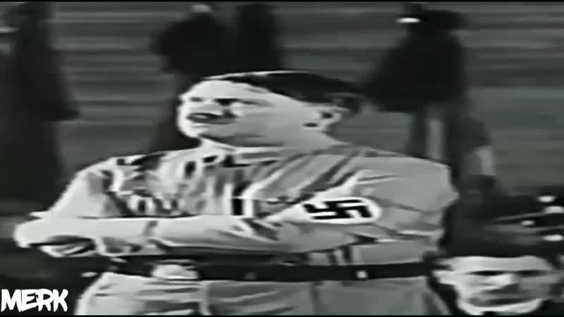 Гитлер задумался а потом начал говорить