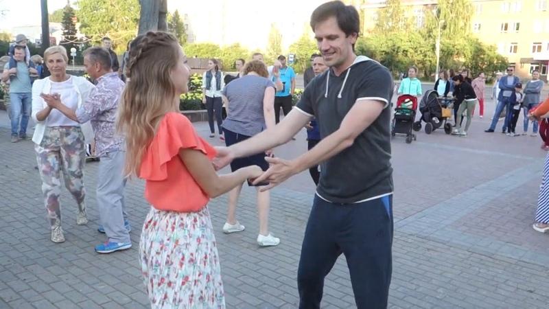 Танцы на Театральной площади г. Сыктывкара 29.07.2018 - 08 - Traicion - Angeles De La Bachata