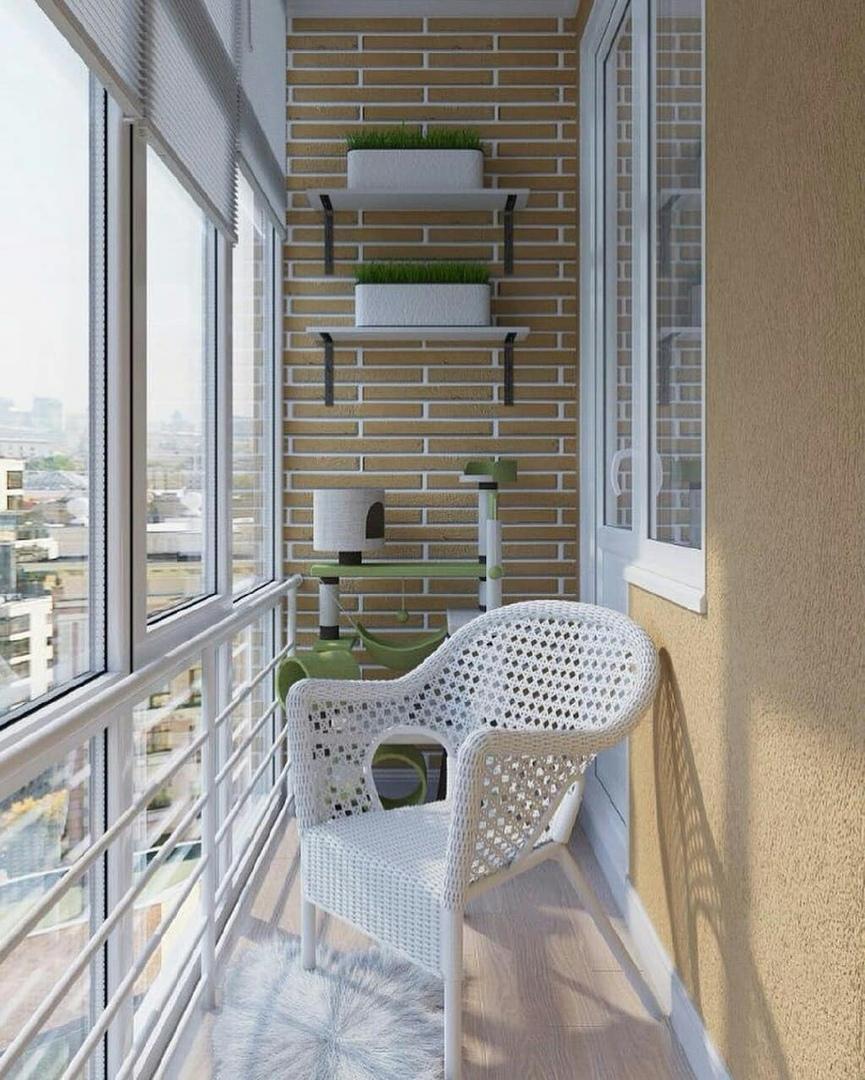 фото балкона с циан подобрать