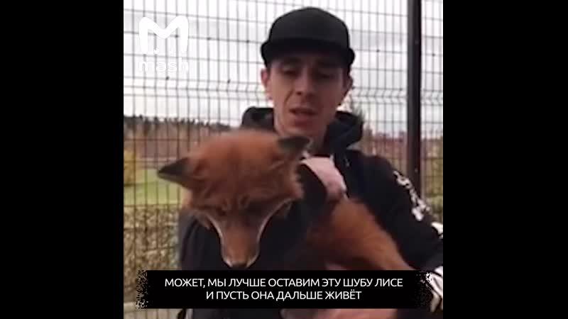 В Москве появилась зоополиция которая выкупает животных из меховых фабрик