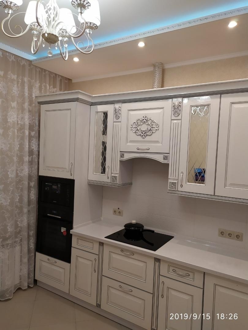 Делюсь фото нашей новой кухни - остановились на классическом стиле