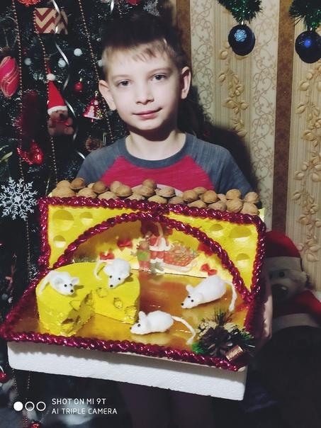 Наша поделка в детский сад Город Верхнедвинск Федотов Глеб
