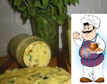 Домашний плавленый сыр с шампиньонами - нереальная вкуснятина! Ингредиенты: 500 гр творога(домашний творог) 2 яйца 2-3 ст.л сметаны(домашняя) соль по вкусу(примерно 1 ч.л без горки) 1 ч.л
