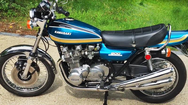 Мотоцикл Kawasaki Z1B, 1975 года