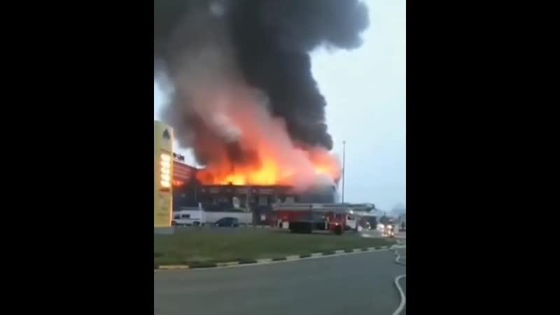 Пожар на Дзержинского.