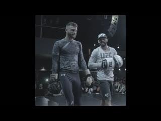 Келвин Кэттер на открытой тренировке перед UFC Москва