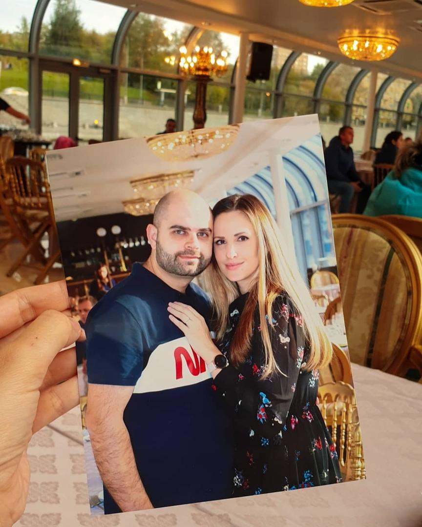 Ольга и Илья Гажиенко отметили годовщину свадьбы