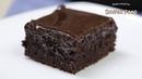 10 минут и готово! САМЫЙ ШОКОЛАДНЫЙ ПИРОГ к чаю с ГАНАШЕМ. / Chocolate Cake with Ganache