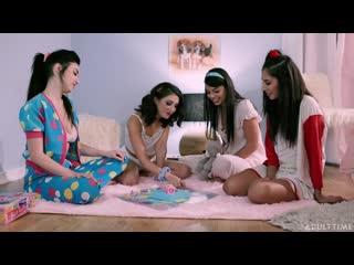 Gina Valentina, Jane Wilde, Jade Baker, Gianna Dior - Girls Just Wanna Have Fun [Lesbian]