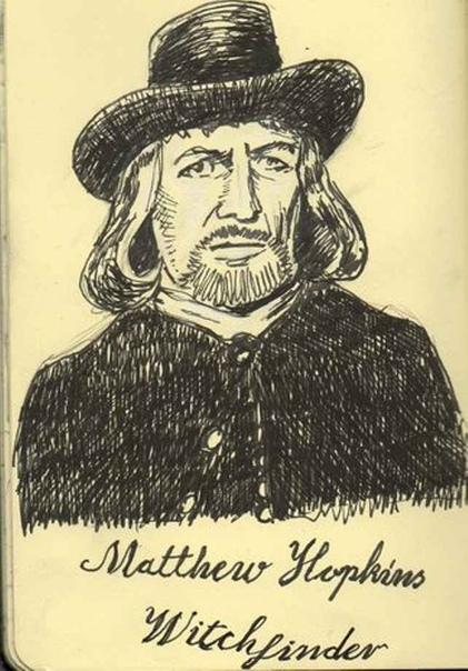 МЭТЬЮ ХОПКИНС (Мат 18,) Знаменитость ебучая, Главный охотник на ведьм во время Английской революции. Чувак, который, пользуясь бардаком в стране, сам себе присвоил государственную должность,