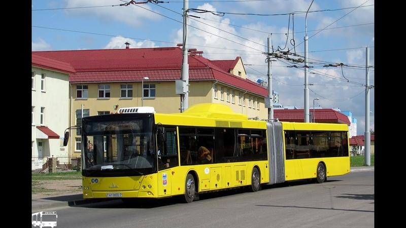 Автобус Минска МАЗ-215.069,гос.№ АН 8955-7, марш.964 (27.07.2019)