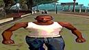 Wide CJ walking but he's always in frame (Широкий CJ идёт, но он всегда в кадре)