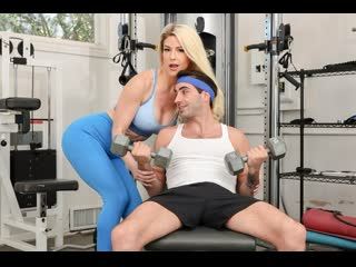 Kit Mercer - Pumping Iron And Then My Step Moms Pussy [Big Tits, Blowjob, MILF, Step Mom, Stockings, Uniform, Taboo, New porn]