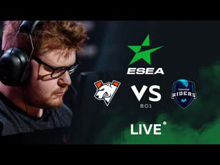 vs Movistar Riders, bo1. ESEA MDL S32