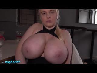 PublicAgent Jordan Pryce- Agent fucks blonde's massive tits-FakeHub Public Agent Casting Beauty Busty MILF Czech Pickups