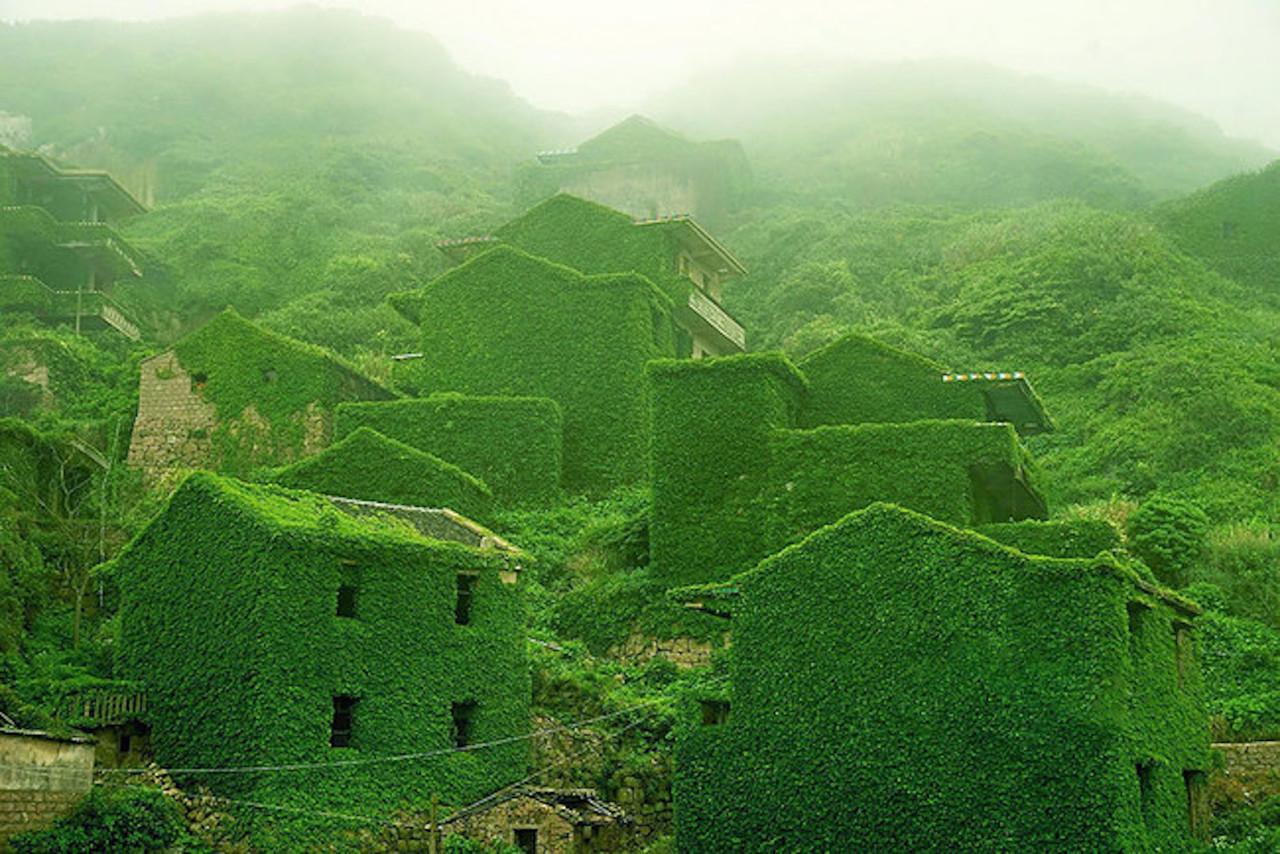 Эту китайскую деревню забрала обратно природа