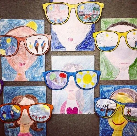 Урок рисования. Идея рисунка:Как я вижу лето.