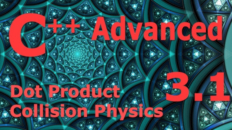 Advanced C Programming Tutorial 3.1 [Dot Product Collision Physics]