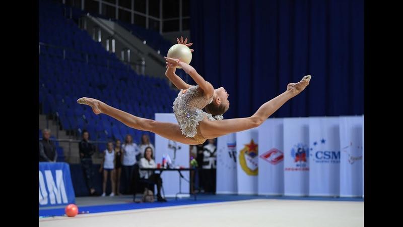 Anna Popova - BallYoung gymnasts-2019 AA 20.55