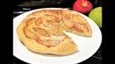 10 минут Ленивый ЯБЛОЧНЫЙ ПИРОГ на сковороде к Чаю или Завтраку Карамельные Яблочки