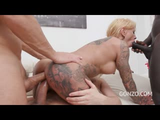 Dirty talking german slut FitXXX Sandy assfucked 3on1 with DP DAP - Gangbang Anal Sex Big Tits Dick Cock BBC Tattoo, Porn, Порно