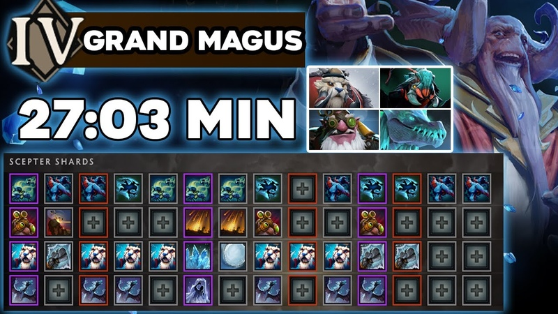 FASTEST GRAND MAGUS Aghanim's Labyrinth 27 03 Minutes NEW RECORD TI10 Summer Event