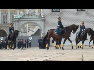 День Президентского полка. Доброе утро