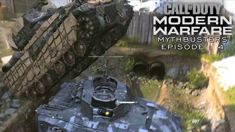 Modern Warfare Mythbusters Episode 4