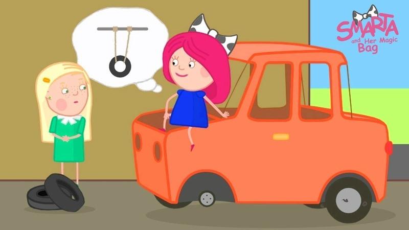 Smarta and her Magic Bag At Preschool Adventure Cartoon for Kids Funny Cartoons
