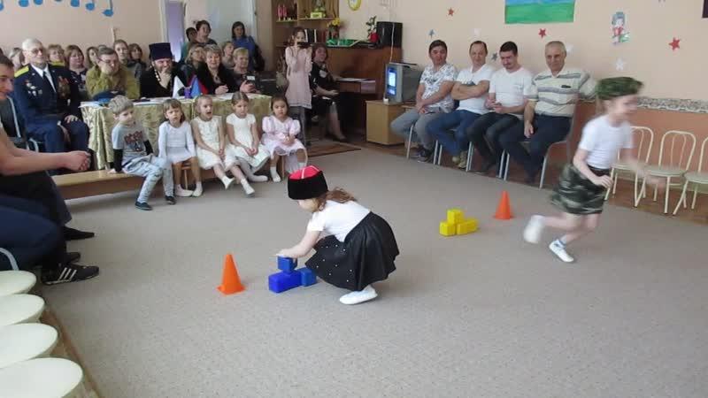 мастер класс в 51 детском саду Спортивно музыкальное развлечение Один день в Армии 6 02 20 0549