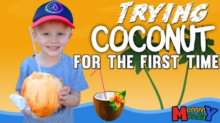 Let's Try Raw Coconut & Fresh Malasadas || Mommy Monday