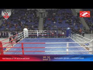 XXX Всероссийские соревнования по боксу памяти ЗТР А.Д. Щедеркина Капитонова и Кузина.Финалы