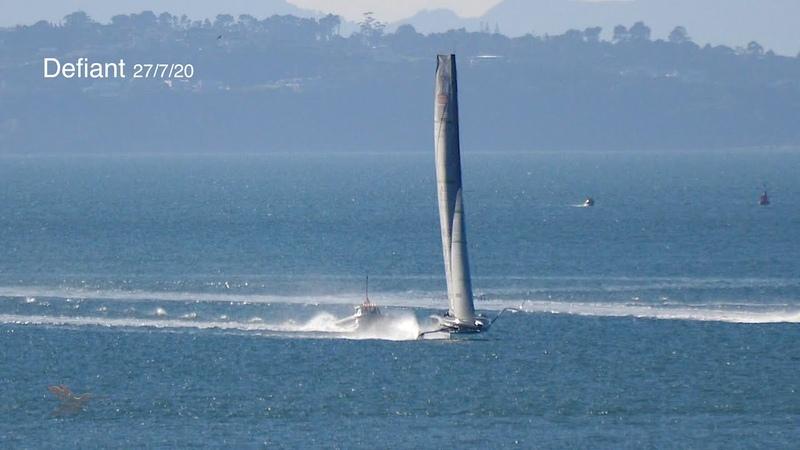 Defiant First Sail New Zealand