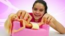 Видео про Барби и игрушки для девочек. Игры в Салон красоты Спа процедуры и ванна для Куклы Барби