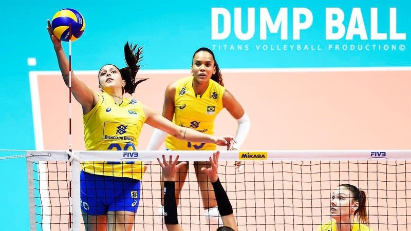 TOP 30 Volleyball Dump Ball points Volleyball Tips Volleyball Attack Women s VNL 2018