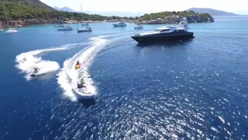 AQUARELLA – потрясающая моторная яхта